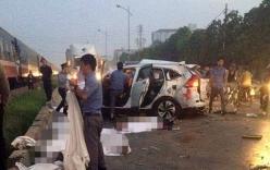 Vụ tàu hỏa đâm ô tô, 5 người chết: Đôi nam nữ nằm chồng lên nhau