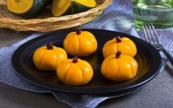 Ẩm thực ngày lễ Halloween: Cách làm bánh Mochi bí đỏ độc đáo ngon lành