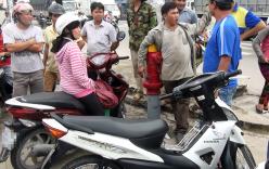 Người phụ nữ truy đuổi cướp trên đường phố Sài Gòn