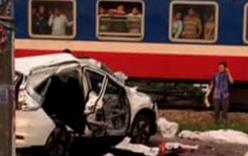 Vụ tàu hỏa đâm ô tô ở Hà Nội, 6 người chết: Tài xế bị chấn thương sọ não