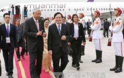 Tổng thống Myanmar bắt đầu thăm chính thức Việt Nam