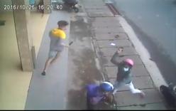 Nam thanh niên bị chém hội đồng ngay trên đường phố Biên Hòa