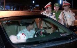 Tài xế say rượu, chống đối CSGT bị phạt 17 triệu đồng