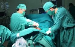 Cứu sống bệnh nhân bị lưỡi cưa cắt xả bụng