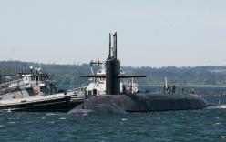 Mỹ triển khai tàu ngầm tên lửa đạn đạo lớn nhất tới Thái Bình Dương