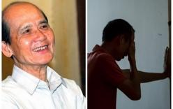 Con trai nghệ sĩ Phạm Bằng thẫn thờ, ngồi sụp trước linh cữu cha