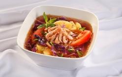 Ngon cơm với món canh chua bắp cải tím ngọt mát