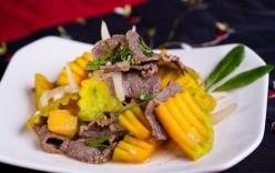 Ngon miệng và giàu dưỡng chất với bí đỏ xào thịt bò