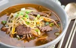 Thêm sắc cho bữa cơm ngon với canh thịt bò giá đỗ