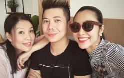 Tăng Thanh Hà xuất hiện trong sự kiện của cựu mẫu Minh Anh trước tin đồn mang bầu