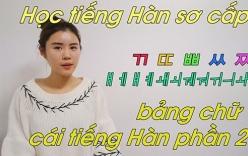 Mẹo học bảng chữ cái tiếng Hàn nhanh cho người mới bắt đầu học