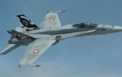 Thụy Sĩ giải thích việc điều chiến đấu cơ theo sát máy bay Nga