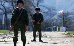 Hai binh sĩ Nga bị Ukraine bắt giữ gần biên giới Crimea