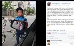 Cậu bé lớp 2 xin lỗi tài xế vì tông vào taxi gây sốt cộng đồng mạng
