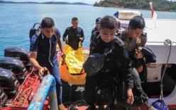 Vớt được nhiều phần thi thể nơi máy bay chở cảnh sát Indonesia rơi