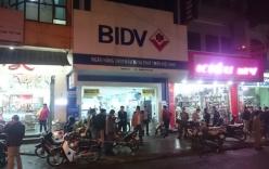 Ngân hàng BIDV ở Huế bị cướp hàng trăm triệu đồng