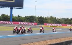 Màn đua tốc độ nghẹt thở tại giải đua môtô châu Á mùa giải 2016