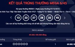 Xuất hiện người trúng gần 70 tỷ đồng xổ số Vietlott tại Hà Nội