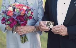 Cặp đôi chụp ảnh cưới sau 70 năm kết hôn