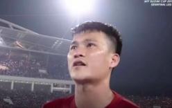 Thủy Tiên an ủi khi Công Vinh khóc nức nở sau trận thua Indonesia
