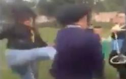 Nữ sinh lớp 10 bị đánh hội đồng kinh hoàng ở Nghệ An