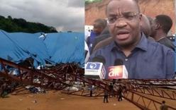 Sập nhà thờ ở Nigeria, ít nhất 60 người thiệt mạng