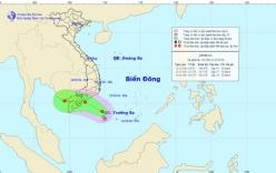 Tin tức mới áp thấp nhiệt đới giật cấp 9 trên Biển Đông