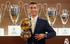 Ronaldo vượt mặt Michel Platini, lần thứ 4 đoạt Quả bóng vàng