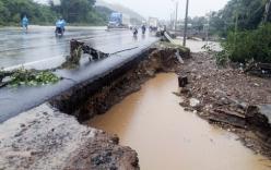 Tin cảnh báo lũ trên các sông từ Thừa Thiên Huế đến Khánh Hòa