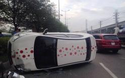 Tai nạn giao thông, đôi nam nữ mắc kẹt trong ô tô khóc thét cầu cứu