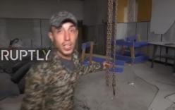 Video: Cận cảnh nơi tra tấn tù nhân của Phiến quân tại Aleppo