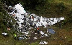 Công bố kết luận điều tra vụ rơi máy bay chở đội bóng Brazil