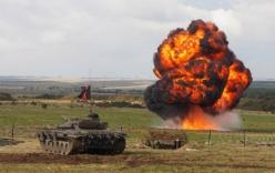 Nga giận dữ vì cách quân đội Anh tập trận
