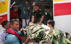 Thủy phi cơ đưa một thiếu tá ở Trường Sa về đất liền chữa trị