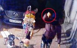 Trộm xe SH thản nhiên chế nhạo chủ nhà trước camera an ninh