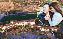 Cận cảnh căn biệt thự 750 tỉ đồng của bạn trai tỷ phú Ngọc Trinh
