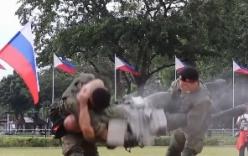 Video: Binh sĩ Nga khoe kỹ năng chiến đấu điêu luyện tại Philippines