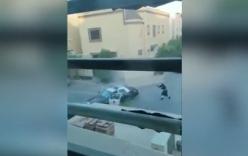 Video: Chiến binh IS mang đai bom, súng máy bị cảnh sát bắn hạ