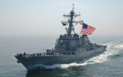 Hải quân Mỹ bắn cảnh cáo tàu tấn công Iran tiếp cận bất thường
