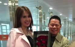 Hoàng Kiều khoe clip tình cảm bên Ngọc Trinh tại Trung Quốc
