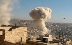 Video: Nga không kích dữ dội, tiêu diệt nhiều tay súng thánh chiến