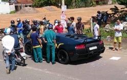 Người lái siêu xe Lamborghini gây tai nạn là ai?