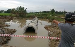 Thương tâm 2 bé 8 tuổi chết đuối dưới hố nước công trình