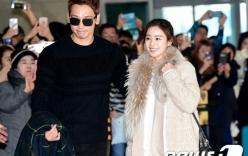 Kim Tae Hee và Bi Rain lần đầu xuất hiện cùng nhau trước truyền thông