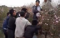 Trộm xe ở vườn đào, nam thanh niên bị đánh hội đồng nhừ tử