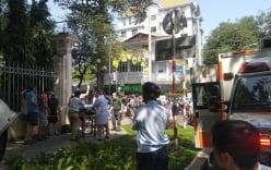 Du khách nước ngoài đột quỵ giữa đường phố Sài Gòn