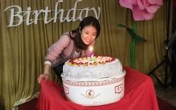 Lâm Tâm Như xuất hiện sau sinh, mừng sinh nhật 41 tuổi