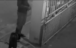 Nam thanh niên thản nhiên lấy trộm xe đạp trước mõm chó