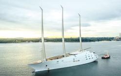 Video: Cận cảnh siêu du thuyền lớn nhất thế giới của tỷ phú Nga