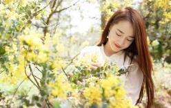 Nhã Phương đẹp dịu dàng trong mùa xuân Đà Lạt